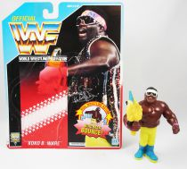 WWF Hasbro - Koko B. Ware (loose with USA cardback)
