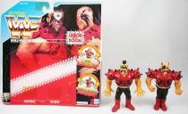 WWF Hasbro - Legion of Doom : Animal & Hawk (loose avec carte USA)