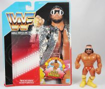 WWF Hasbro - Macho Man Randy Savage v.1 (loose avec carte USA)