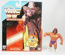WWF Hasbro - Macho Man Randy Savage v.3 (loose with Spanish cardback)