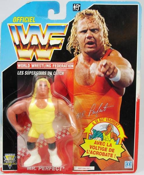 WWF Hasbro - Mr. Perfect Curt Hennig v.1 (France card)