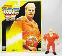 WWF Hasbro - Nailz (loose with USA cardback)