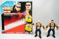WWF Hasbro - Nasty Boys : Brian Knobbs & Jerry Saggs (loose avec carte FR)