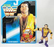WWF Hasbro - Razor Ramon v.2 (loose with USA cardback)