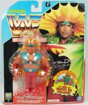 WWF Hasbro - Ricky The Dragon Steamboat (France card)