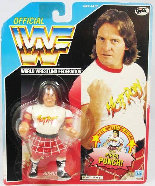 WWF Hasbro - Rowdy Roddy Piper (USA card)