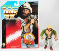 WWF Hasbro - Skinner (loose with USA cardback)