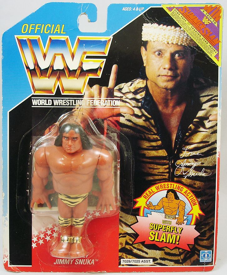 WWF Hasbro - Superfly Jimmy Snuka (USA card)