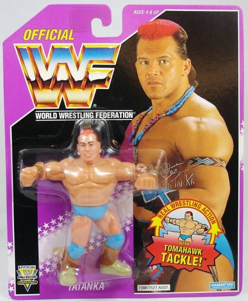 WWF Hasbro - Tatanka (USA card)
