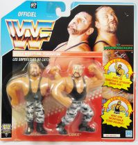WWF Hasbro - The Bushwhackers : Butch & Luke (France card)