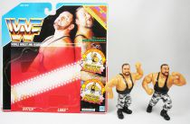 WWF Hasbro - The Bushwhackers : Butck & Luke (loose avec carte USA)