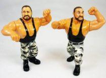 WWF Hasbro - The Bushwhackers : Luke & Butch \'\'version 1\'\' (loose)
