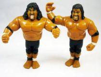 WWF Hasbro - The Headshrinkers : Samu & Fatu (loose)