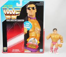 WWF Hasbro - The Model Rick Martel (loose with USA cardback)