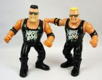 WWF Hasbro - The Nasty Boys  Jerry Sags & Brian Knobs (loose)