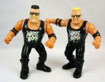 WWF Hasbro - The Nasty Boys  Jerry Sags & Brian Knobs (loose)