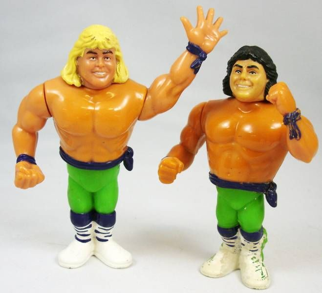 WWF Hasbro - The Rockers : Shawn Michaels & Marty Jannetty (loose)