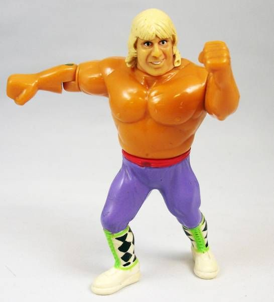 WWF Hasbro - The Rocket Owen Hart (loose)
