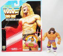 WWF Hasbro - Ultimate Warrior v.3 (loose with USA cardback)
