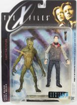 X-Files - McFarlane Toys - Agent Fox Mulder & Alien