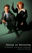 X-Files - Sideshow Collectibles 12\'\' Action Figures - Fox Mulder & Dana Scully figures set