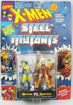 X-Men Steel Mutants - Wolverine vs. Sabertooth