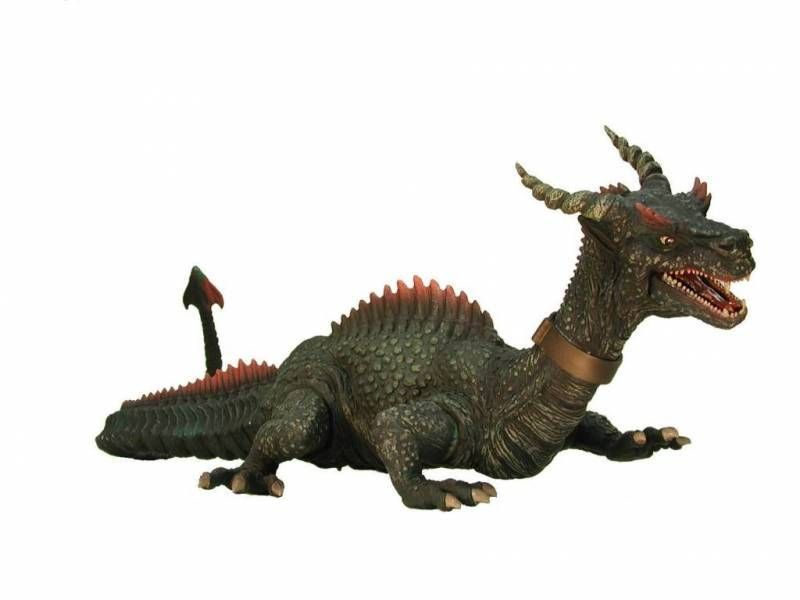X-Plus 20 inches vinyl figure Dragon The 7th voyage of Sinbad