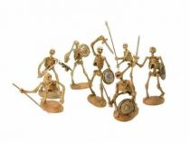 X-Plus Chess piece Series 2 Sword fighting skeletons set Jason and the Argonauts