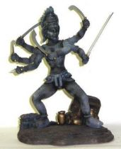 X-Plus Statue Kali The golden voyage of Sinbad