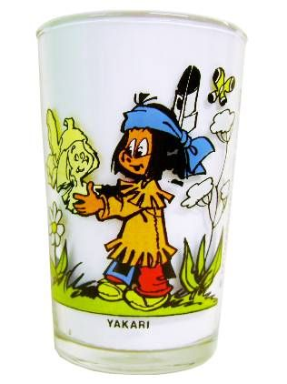 Yakari - Amora Mustard Glass - Yakari & Double-Tooth