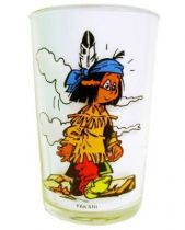 Yakari - Amora Mustard Glass - Yakari & Little Thunder