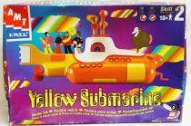 Yellow Submarine - Le Sous-marin jaune des Beatles - Maquette AMT ERTL