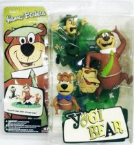 Yogi Bear - Yogi, Boo Boo & Ranger Smith - McFarlane Hanna-Barbera figures