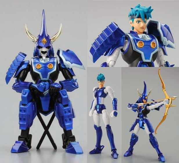 Yoroiden Samurai Troopers - Bandai Armor Plus - Toma of the Heavens