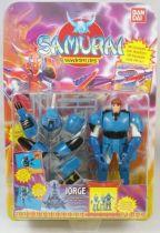 Yoroiden Samurai Troopers - Bandai Playmates - Yan  Samouraï de l\'Eau