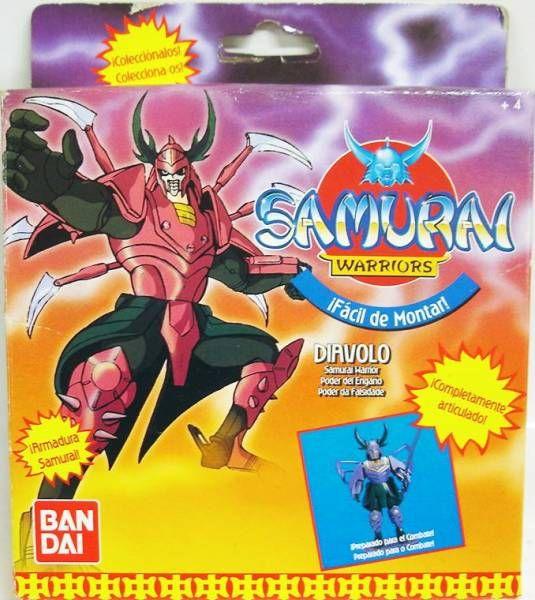 Yoroiden Samurai Troopers - Bandai Playmates Miniatures - Dais Warlord of Illusion