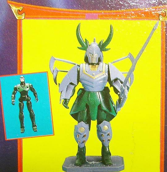 Yoroiden Samurai Troopers - Bandai Playmates Miniatures - Dais Warlord of Illusion