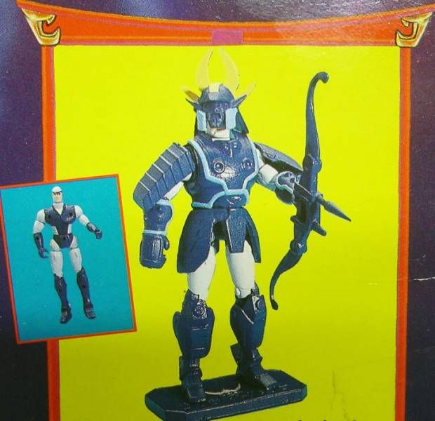 Yoroiden Samurai Troopers - Bandai Playmates Miniatures - Rowen of the Strata