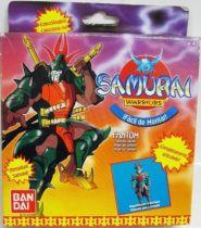 Yoroiden Samurai Troopers - Bandai Playmates Miniatures - Sekhmet Warlord of Poison