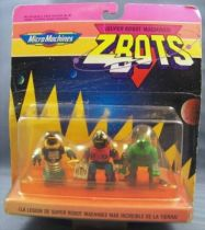 Zbots Micro Machines - Effector, Scammer, Wing Beast - Galoob Famosa