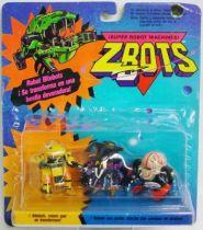 Zbots Micro Machines - Gripjawz, Gowge, Brainiax - Galoob Famosa
