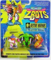 Zbots Micro Machines - Skweez, Stinng, Jawzz - Galoob Famosa