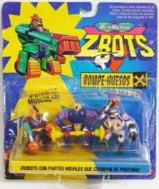 Zbots Micro Machines - Sukr, Byceptor, Fleshy - Galoob Famosa