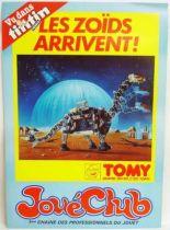Zoïds - Jouéclub 1983 promotional poster