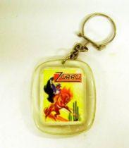 Zorro -  Transparency keychain - Zorro Magazine