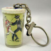 Zorro - Grey-Poupon key-holders - Zorro sword fighting