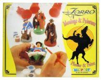 Zorro - Masport 1997 - Moulage & Peinture (neuf en boite)
