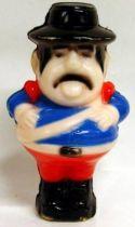 Zorro - Sargeant Garcia - plastic figure (loose)