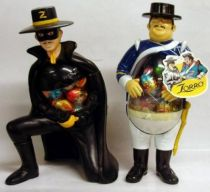 Zorro & Sgt. Gonzales - chocolate eggs dispensers (mint)