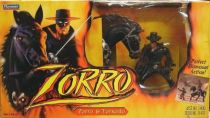 Zorro & Tornado - Playmates action figures (mint in box)